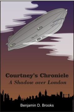 Cover Art for Courtney's Chronicle: A Shadow over London
